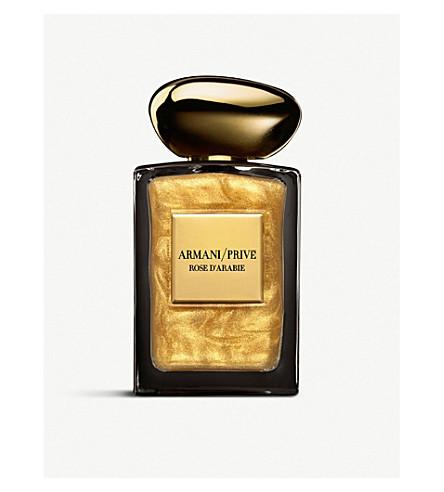 GIORGIO ARMANI Privé Rose D'Arabie L'Or du Désert eau de parfum intense satinée or 100ml