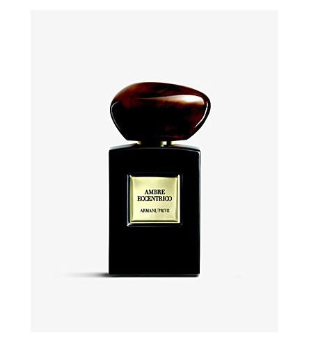 GIORGIO ARMANI Armani/Privé Ambre Eccentrico eau de parfum 100ml