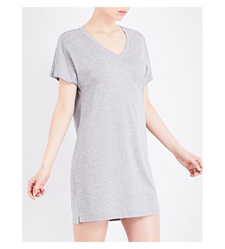 HANRO Laura jersey nightdress (Cosy+melange