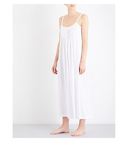 HANRO Juliet cotton-jersey nightdress (White