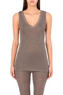 HANRO Woolen lace vest top