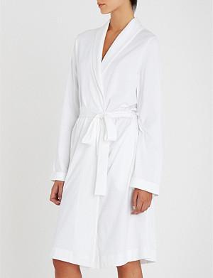 HANRO Hanro cotton-jersey robe