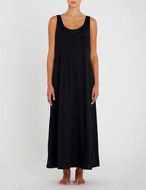 26067c1994 HANRO - Moments cotton-jersey sleeveless nightdress