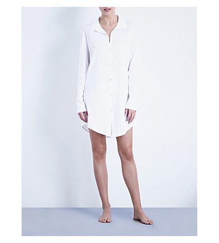 HANRO 豪华棉睡衣 (白色