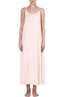 DONNA KARAN Pima cotton gown