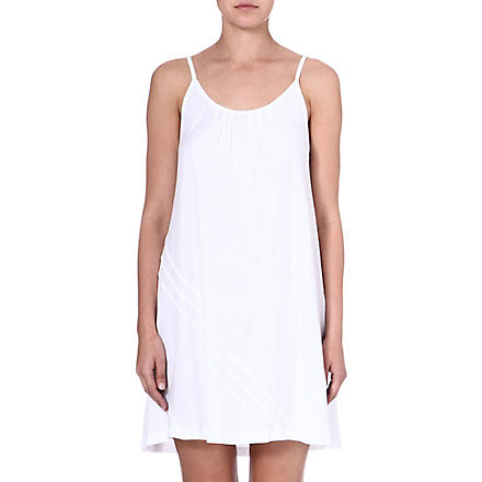 DONNA KARAN Cotton chemise (White