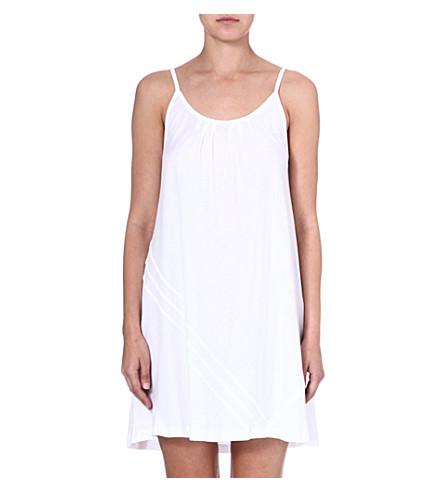 DONNA KARAN Cotton chemise (White