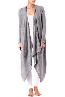 DONNA KARAN Wool and cashmere cardigan