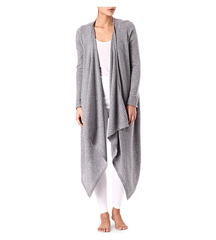 DONNA KARAN Wool and cashmere cardigan (Dkhgy