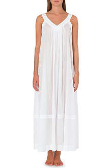 DONNA KARAN Batise cotton gown