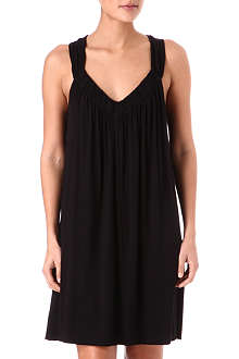 DONNA KARAN Jersey short nightdress
