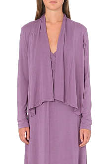 DONNA KARAN Liquid jersey short cozy