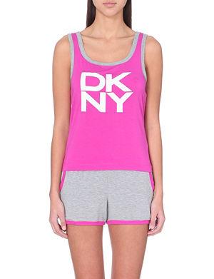 DKNY Nolita jersey pyjama set
