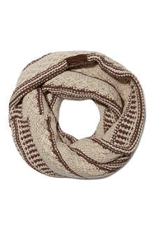 RUBY & ED Knit funnel snood