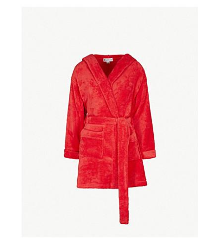 WILDFOX 目前正在睡觉的羊毛长袍 (红色 + 线