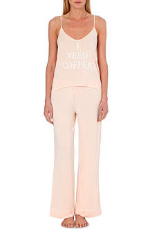 WILDFOX Need Coffee pyjama set