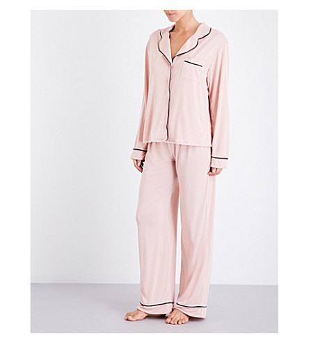 WILDFOX From me to you jersey pyjama set (Dusty rose