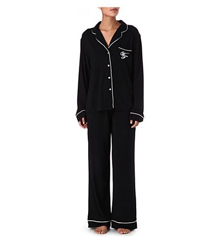 WILDFOX Je t'aime pyjama set (Black/white