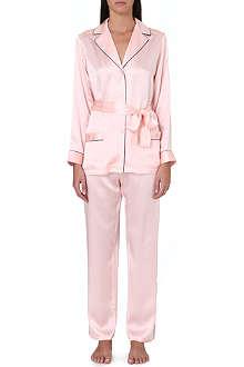 MARJOLAINE Silk pyjama set