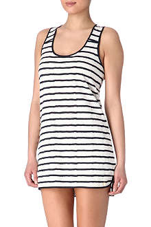JUICY COUTURE Stripe lace knit night dress