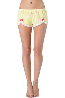 JUICY COUTURE Pinup gingham shorts