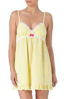JUICY COUTURE Pin-up gingham night dress