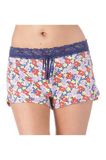 JUICY COUTURE Floral-print shorts