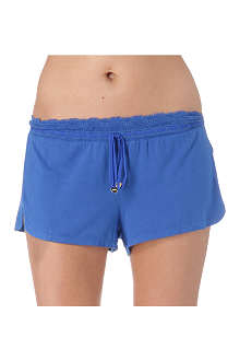 JUICY COUTURE Lace-detail shorts