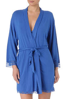 JUICY COUTURE Lace-detail robe