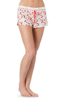 JUICY COUTURE Cherry Bomb shorts