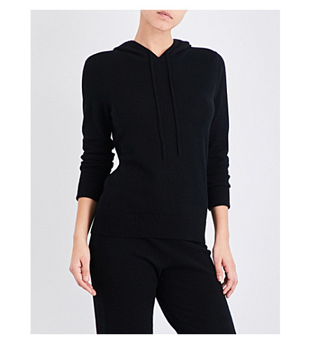 MADELEINE THOMPSON Dalton knitted cashmere jumper (Solid+black