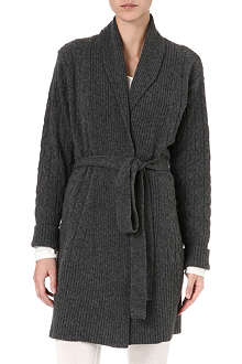 MADELEINE THOMPSON Cable-knit robe