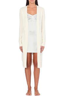 MADELEINE THOMPSON Cashmere drape gown