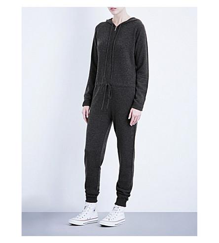 MADELEINE THOMPSON Ivor cashmere onesie (Charcoal