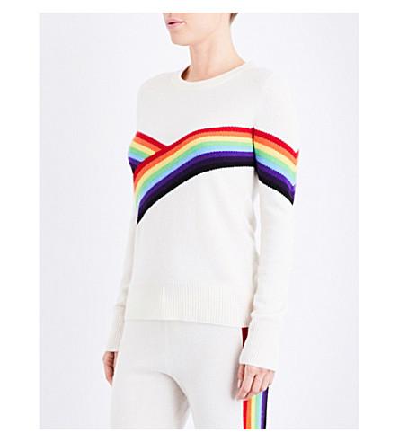 MADELEINE THOMPSON Bebe cashmere jumper (Cream+multi