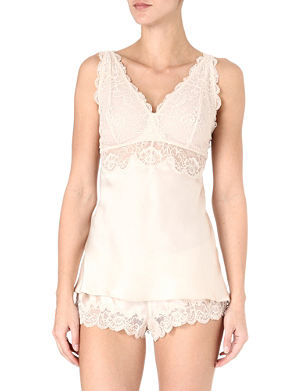 NK IMODE Silk and lace camisole