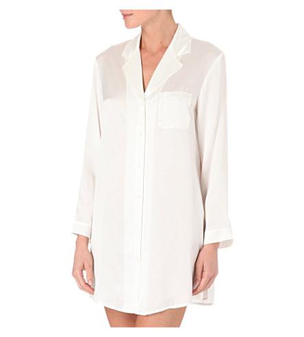 NK IMODE Silk nightshirt (Ivory