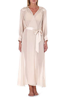 NK IMODE Sultry silk robe