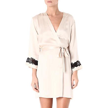 NK IMODE Morgan robe (Champagne/black