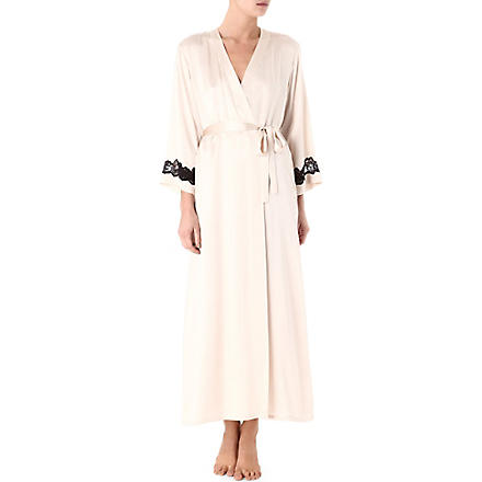 NK IMODE Morgan long robe (Champagne/black