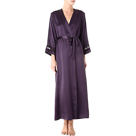 NK IMODE Morgan long robe (Ink/ink