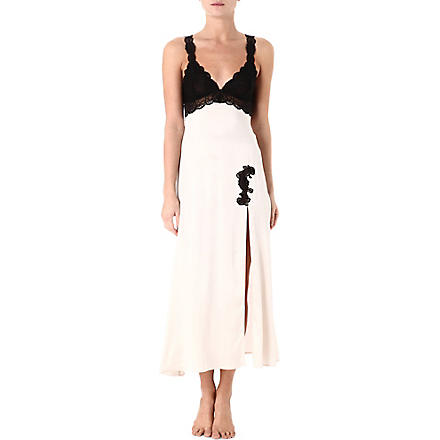NK IMODE Morgan nightgown (Champagne/black