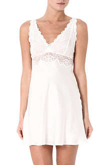 NK IMODE Lace and silk chemise