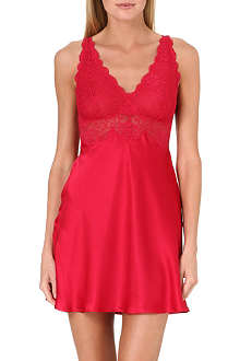 NK IMODE Silk and lace chemise