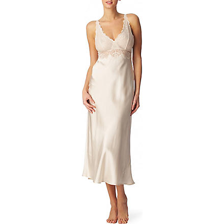 NK IMODE Silk and lace nightgown (Champagne