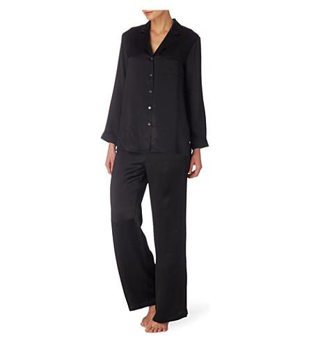 NK IMODE Silk pyjama set (Black