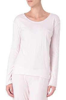 SKIN Organic cotton double-layer top