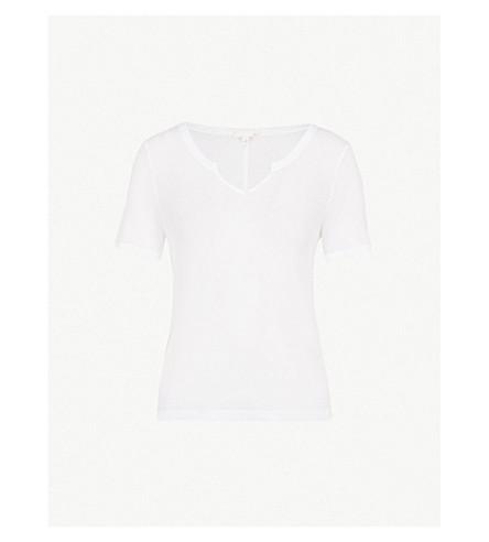 SKIN Willa cotton T-shirt (White