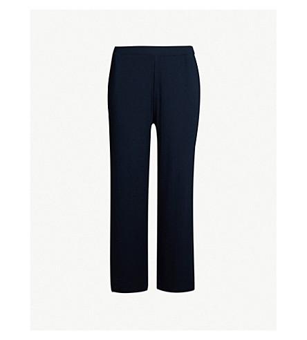 SKIN Noelle cropped cotton-blend jersey jogging bottoms (Moonlight