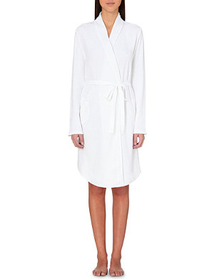 SKIN Cotton dressing gown